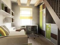 vizualizace - pokoj ve 2. patře (Prodej domu 138 m², Hrádek nad Nisou)