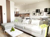 vizualizace - obývací pokoj a kuchyňský kout (Prodej domu 138 m², Hrádek nad Nisou)