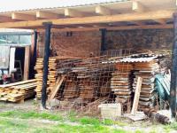 sklad dřeva - Pronájem výrobních prostor 200 m², Bradlec