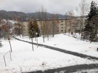 zimní výhled na Jizerky (Prodej bytu 2+1 v osobním vlastnictví 57 m², Liberec)