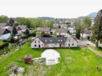 Pohled na dům od zahrady - Prodej domu v osobním vlastnictví 410 m², Cvikov