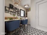 Vizualizace jídelní kout - Prodej bytu 1+1 v osobním vlastnictví 46 m², Jablonné v Podještědí