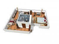 půdorys - Prodej bytu 2+kk v osobním vlastnictví 70 m², Jablonné v Podještědí