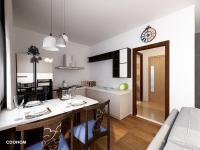 Vizualizace - Prodej bytu 1+1 v osobním vlastnictví 47 m², Jablonné v Podještědí