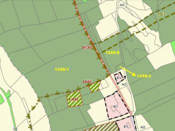Celek - tři pozemky - územní plán - Prodej pozemku 37926 m², Chuchelna