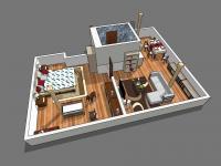 Prodej bytu 2+kk v osobním vlastnictví 70 m², Jablonné v Podještědí