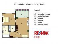 Prodej bytu 2+kk v osobním vlastnictví 39 m², Klecany