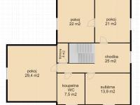 2. NP (Prodej domu v osobním vlastnictví 451 m², Františkovy Lázně)
