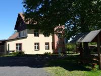 pohled z parkoviště - Prodej domu v osobním vlastnictví 360 m², Krásná