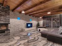obývací hala s mramorem a dřevem i kamenem (Prodej domu v osobním vlastnictví 200 m², Pazin)