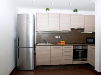 kuch.linka v samostatném prostoru - Prodej bytu 2+kk v osobním vlastnictví 50 m², Cheb