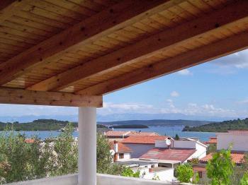 pohled z terasy na moře - Prodej domu v osobním vlastnictví 120 m², Ždrelac