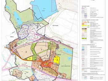 zastavovací plán obce - Prodej pozemku 14200 m², Újezdeček