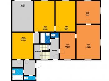 RD_přízemí - Prodej domu v osobním vlastnictví 314 m², Přezletice