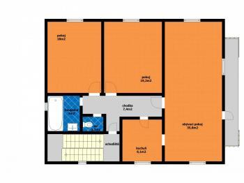 RD_patro - Prodej domu v osobním vlastnictví 314 m², Přezletice