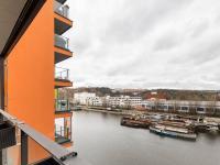 Výhled z lodžie (Prodej bytu 2+kk v osobním vlastnictví 86 m², Praha 7 - Holešovice)