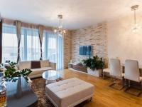 Obývací pokoj (Prodej bytu 2+kk v osobním vlastnictví 86 m², Praha 7 - Holešovice)