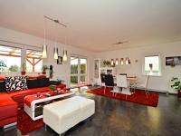 Obývací pokoj (Prodej domu v osobním vlastnictví 170 m², Větrušice)
