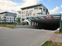 Novostavba cihlového domu s pouze 20-ti byty. (Prodej bytu 3+kk v osobním vlastnictví 84 m², Praha 9 - Letňany)