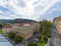 výhled z okna (Prodej bytu 4+kk v osobním vlastnictví 129 m², Mariánské Lázně)
