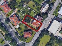 umístnění domu (Prodej domu v osobním vlastnictví 380 m², Praha 6 - Břevnov)