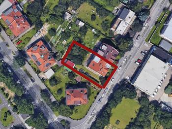 umístnění domu - Prodej domu v osobním vlastnictví 380 m², Praha 6 - Břevnov