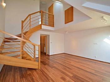 Obývací pokoj - Pronájem bytu 3+1 v osobním vlastnictví 96 m², Praha 3 - Žižkov