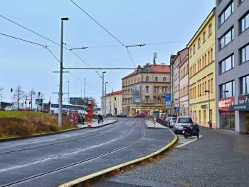 """Prostranství před objektem - rezidence Paví vrch\\\\\\\\\\\\\\\"""", Radlická, Praha 5 - Smíchov. - Prodej kancelářských prostor 34 m², Praha 5 - Smíchov"""