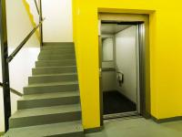 výtah - Prodej bytu 3+kk v osobním vlastnictví 108 m², Praha 10 - Malešice