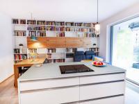 Obývák - Prodej bytu 3+kk v osobním vlastnictví 108 m², Praha 10 - Malešice