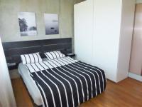 Ložnice - Pronájem bytu 2+kk v osobním vlastnictví 52 m², Praha 9 - Vysočany