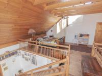 ložnice na galerii v podkroví  - Prodej domu v osobním vlastnictví 182 m², Běštín