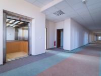 Společná chodba s výtahem (Pronájem kancelářských prostor 36 m², Kladno)