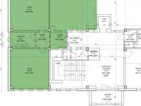 Půdorys 1.NP (Pronájem kancelářských prostor 96 m², Kladno)