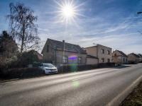 Pohled na dům z ulice - Prodej domu v osobním vlastnictví 52 m², Smečno