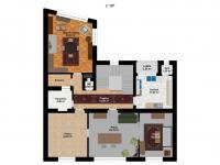 2.NP - Prodej domu v osobním vlastnictví 419 m², Kladno