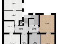 1.NP - Prodej domu v osobním vlastnictví 419 m², Kladno
