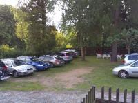 Zahrada, parkovací místa (Prodej hotelu 1500 m², Mikulášovice)