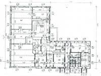 Půdorys přízemí - Prodej domu v osobním vlastnictví 1500 m², Mikulášovice