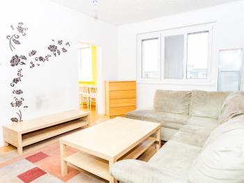 obývací pokoj - Pronájem bytu 2+1 v osobním vlastnictví 55 m², Most