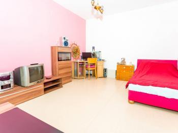 ložnice - Prodej bytu 1+1 v osobním vlastnictví 35 m², Jirkov
