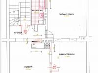 Půdorys 1. patro - Pronájem komerčního objektu 190 m², Most