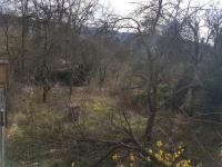 Pohled na pozemek (Prodej pozemku 526 m², Mnichovice)