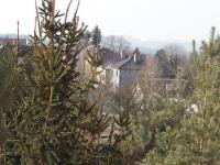 výhled z obýváku (Prodej bytu 2+kk v osobním vlastnictví 43 m², Říčany)