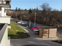 hezký výhled do klidné ulice (Prodej bytu 2+kk v osobním vlastnictví 41 m², Praha 9 - Hloubětín)