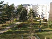 Výhled z balkonu západním směrem (Prodej bytu 1+1 v osobním vlastnictví 44 m², Písek)