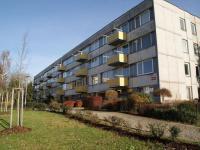 Celkový pohled na dům (Prodej bytu 1+1 v osobním vlastnictví 44 m², Písek)