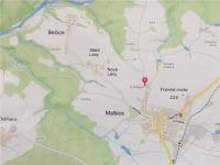 klidná čast na okraji obce s plnou občanskou vybaveností (Prodej pozemku 12539 m², Malšice)