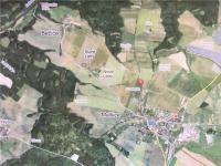 v blízkosti rozsáhlých lesů a řeky (Prodej pozemku 12539 m², Malšice)
