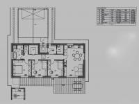 Dispozice (Prodej domu v osobním vlastnictví 140 m², Mukařov)